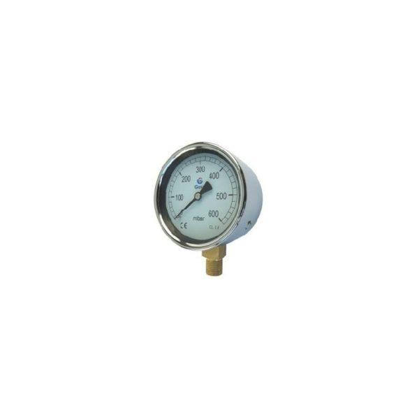 Manometr nisko ciśnieniowy w ocynkowanej obudowie M 04 02