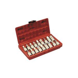 Zestaw kluczy nasadowych do korków oleju A-GE2405