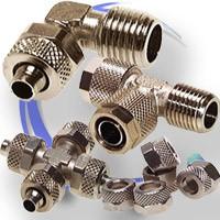 Złączki skręcane metalowe