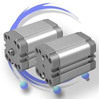 Siłowniki pneumatyczne kompaktowe ISO 21287