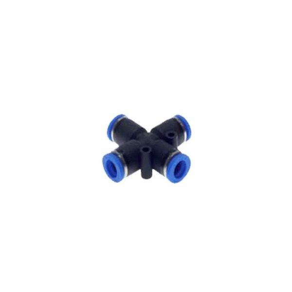 Czwórnik wtykowy PZA 6 mm