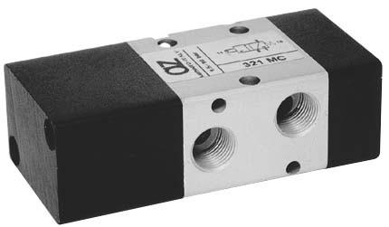Zawór pneumatyczny 322 MC (01.022.4)