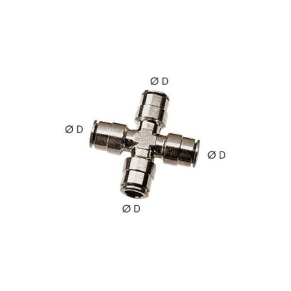 Czwórnik wtykowy 8 mm