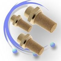 Tłumik hałasu stożkowy THS (spiek brązu)