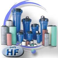 Filtry powietrza olejowe dokładne HF