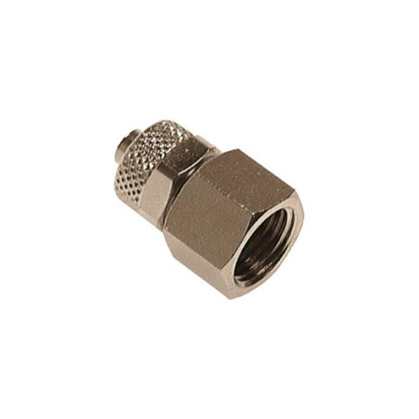 """Złączka skręcana prosta z gwintem wewnętrznym G 1/4"""" 8 x 6 mm"""