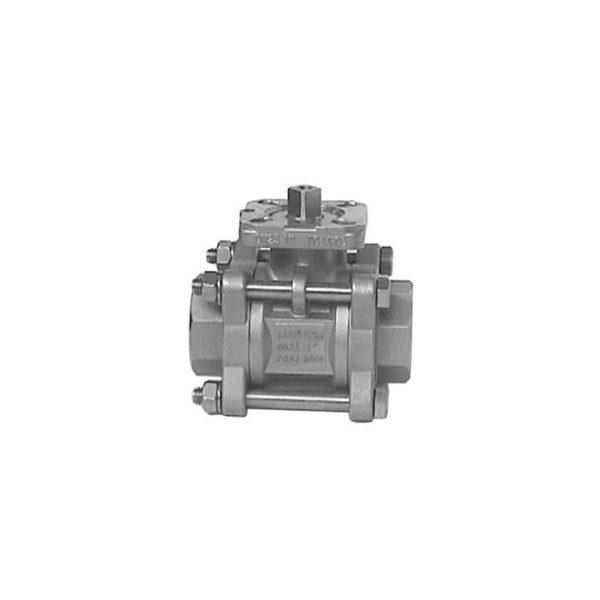 """Zawór kulowy pneumatyczny 2.1/2"""" DN 65 typ 424"""