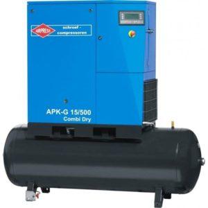 Sprężarka śrubowa APK-G 15/500 Combi Dry