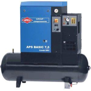 Sprężarka śrubowa kompresor APS BASIC Combi DRY 7.5 / 200
