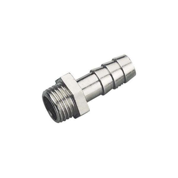Króciec z gwintem 1/4'' na wąż PCV 7mm K0207