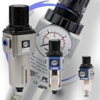Reduktory z filtrem do instalacji sprężonego powietrza