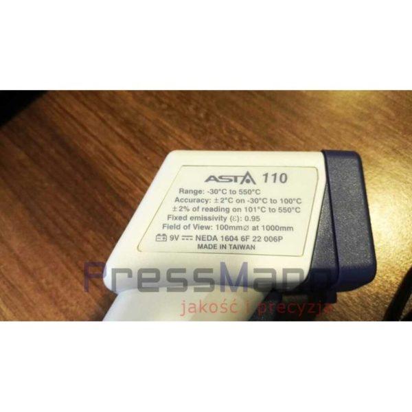 Termometr laserowy ASTA 110