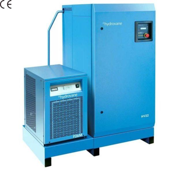 Sprężarka łopatkowa HYDROVANE z osuszaczem i filtracją HV 11 kW 400V 8 bar