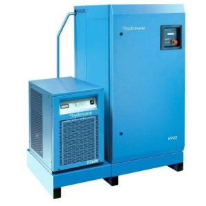 Sprężarka łopatkowa HYDROVANE z osuszaczem i filtracją HV 22 kW 400V 8 bar
