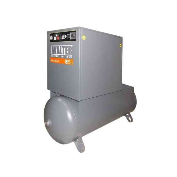 Sprężarka śrubowa SKTG 5.5-10 na zbiorniku 500L 10 bar