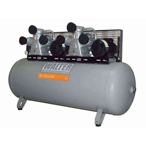 Sprężarka tłokowa GK 1760l/m 2x5,5kW 500L