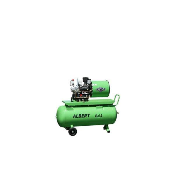 Sprężarka śrubowa Atmos Chrast Albert E.65