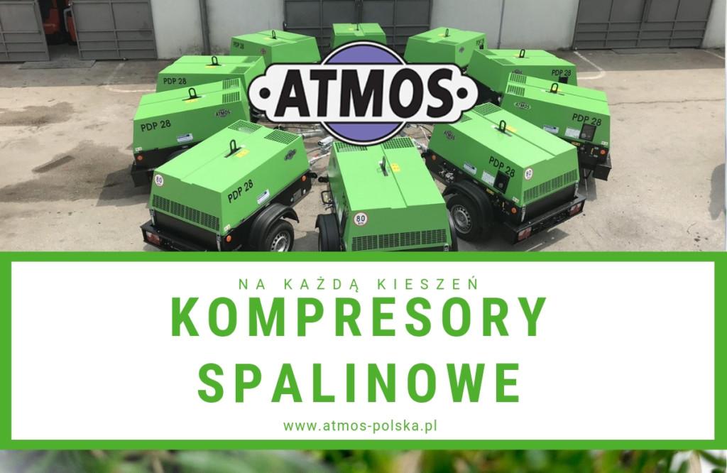 Kompresory spalinowe Atmos