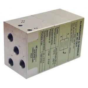 Zawór pneumatyczny oburęcznego sterowania AZ-08.156.4 - zabezpieczenie do prasy