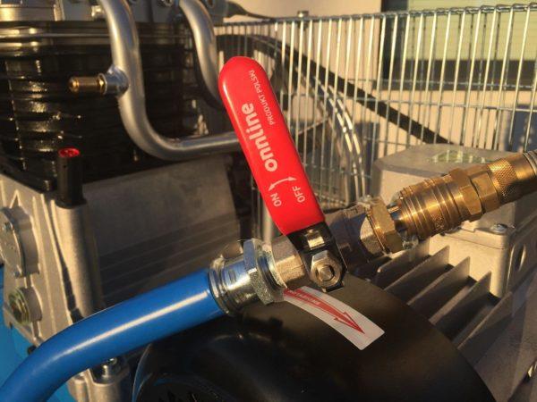 Lanca do przedmuchu szalunków z turbodyszą Pressmann
