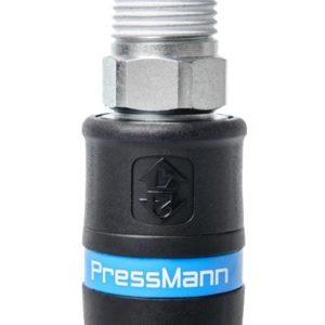 """Szybkozłączka bezpieczna Pressmann PrevoS2 z gwintem 3/8"""" Z"""