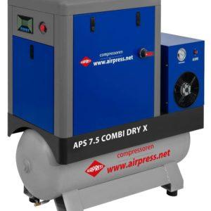 Sprężarka śrubowa Airpress APS 7,5 COMBI DRY X