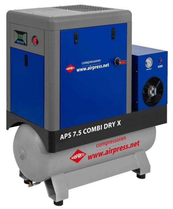 Sprężarka śrubowa Airpress APS 15 COMBI DRY X