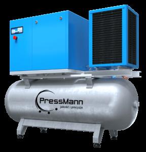 jak dobrać kompresor śrubowy - PressMann